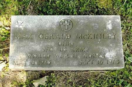 MCKINLEY, MAX GERALD - Richland County, Ohio | MAX GERALD MCKINLEY - Ohio Gravestone Photos