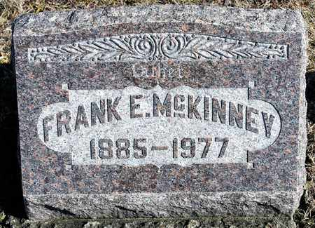 MCKINNEY, FRANK E - Richland County, Ohio | FRANK E MCKINNEY - Ohio Gravestone Photos