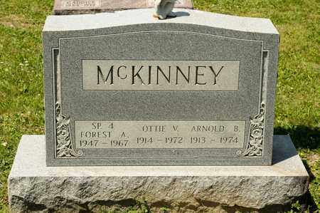 MCKINNEY, FOREST A - Richland County, Ohio | FOREST A MCKINNEY - Ohio Gravestone Photos