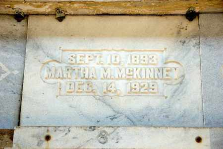 MCKINNEY, MARTHA M - Richland County, Ohio | MARTHA M MCKINNEY - Ohio Gravestone Photos