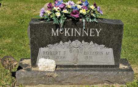 MCKINNEY, ROBERT F - Richland County, Ohio | ROBERT F MCKINNEY - Ohio Gravestone Photos