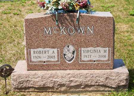MCKOWN, VIRGINIA M - Richland County, Ohio | VIRGINIA M MCKOWN - Ohio Gravestone Photos