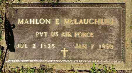 MCLAUGHLIN, MAHLON E - Richland County, Ohio | MAHLON E MCLAUGHLIN - Ohio Gravestone Photos