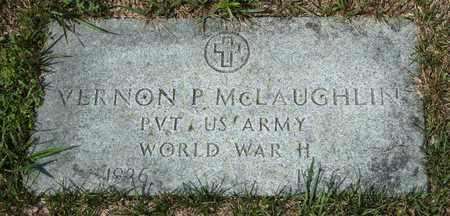 MCLAUGHLIN, VERNON P - Richland County, Ohio   VERNON P MCLAUGHLIN - Ohio Gravestone Photos
