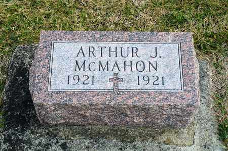 MCMAHON, ARTHUR J - Richland County, Ohio | ARTHUR J MCMAHON - Ohio Gravestone Photos