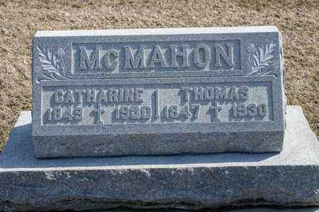 MCMAHON, THOMAS - Richland County, Ohio | THOMAS MCMAHON - Ohio Gravestone Photos
