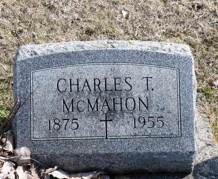 MCMAHON, CHARLES T - Richland County, Ohio | CHARLES T MCMAHON - Ohio Gravestone Photos