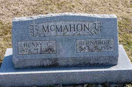 MCMAHON, BERNARD F - Richland County, Ohio | BERNARD F MCMAHON - Ohio Gravestone Photos