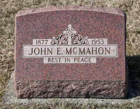 MCMAHON, JOHN E - Richland County, Ohio | JOHN E MCMAHON - Ohio Gravestone Photos