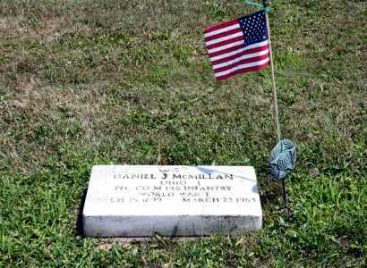 MCMILLAN, DANIEL J - Richland County, Ohio | DANIEL J MCMILLAN - Ohio Gravestone Photos