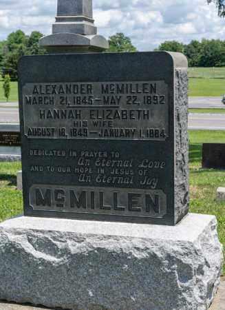 MCMILLEN, ALEXANDER - Richland County, Ohio | ALEXANDER MCMILLEN - Ohio Gravestone Photos