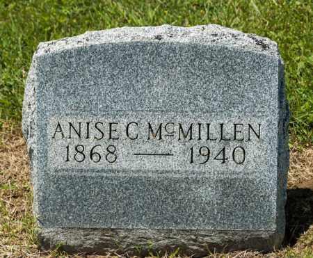 MCMILLEN, ANISE C - Richland County, Ohio | ANISE C MCMILLEN - Ohio Gravestone Photos