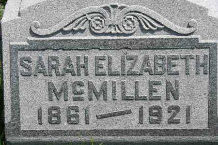 MCMILLEN, SARAH ELIZABETH - Richland County, Ohio | SARAH ELIZABETH MCMILLEN - Ohio Gravestone Photos