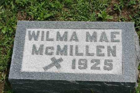 MCMILLEN, WILMA MAE - Richland County, Ohio | WILMA MAE MCMILLEN - Ohio Gravestone Photos