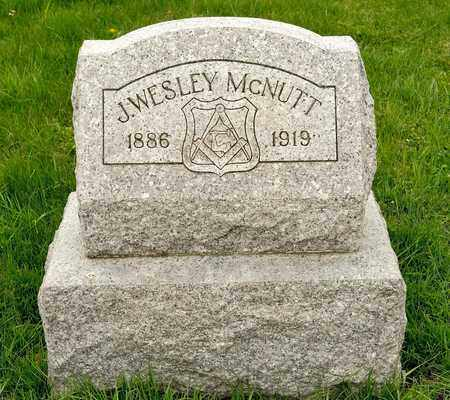 MCNUTT, J WESLEY - Richland County, Ohio | J WESLEY MCNUTT - Ohio Gravestone Photos