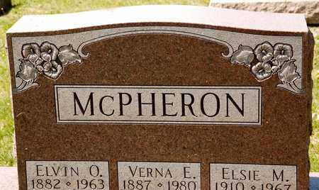 MCPHERON, ELVIN O - Richland County, Ohio | ELVIN O MCPHERON - Ohio Gravestone Photos