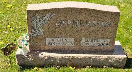 MCPHERSON, KEITH S - Richland County, Ohio | KEITH S MCPHERSON - Ohio Gravestone Photos