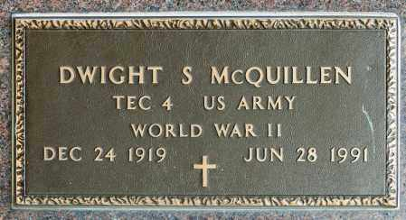 MCQUILLEN, DWIGHT S - Richland County, Ohio | DWIGHT S MCQUILLEN - Ohio Gravestone Photos