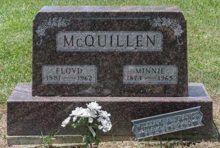 MCQUILLEN, MINNIE - Richland County, Ohio | MINNIE MCQUILLEN - Ohio Gravestone Photos