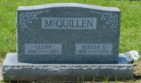 MCQUILLEN, GLENN - Richland County, Ohio | GLENN MCQUILLEN - Ohio Gravestone Photos