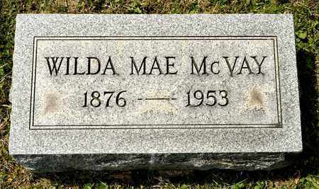 MCVAY, WILDA MAE - Richland County, Ohio | WILDA MAE MCVAY - Ohio Gravestone Photos