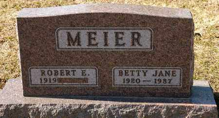 MEIER, BETTY JANE - Richland County, Ohio | BETTY JANE MEIER - Ohio Gravestone Photos