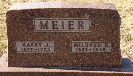 MEIER, MILDRED G - Richland County, Ohio | MILDRED G MEIER - Ohio Gravestone Photos