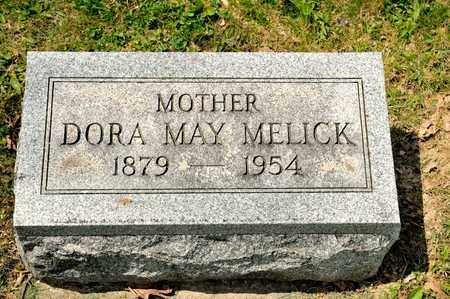 MELICK, DORA MAY - Richland County, Ohio | DORA MAY MELICK - Ohio Gravestone Photos