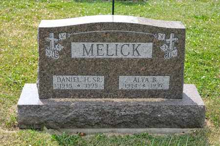 MELICK SR, DANIEL H - Richland County, Ohio | DANIEL H MELICK SR - Ohio Gravestone Photos
