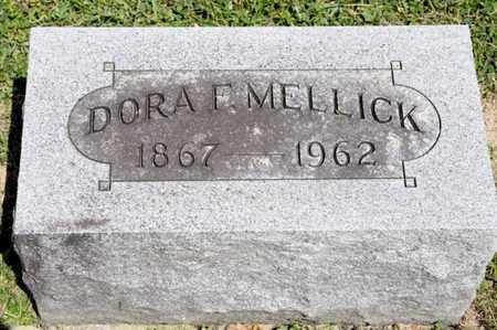 MELLICK, DORA F - Richland County, Ohio | DORA F MELLICK - Ohio Gravestone Photos