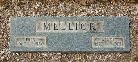 MELLICK, FRED - Richland County, Ohio | FRED MELLICK - Ohio Gravestone Photos