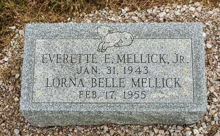 MELLICK, LORNA BELLE - Richland County, Ohio | LORNA BELLE MELLICK - Ohio Gravestone Photos