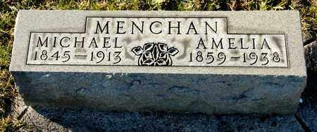 MENCHAN, AMELIA - Richland County, Ohio | AMELIA MENCHAN - Ohio Gravestone Photos