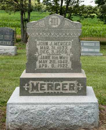 MERCER, JANE - Richland County, Ohio | JANE MERCER - Ohio Gravestone Photos