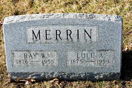 MERRIN, RAY W - Richland County, Ohio | RAY W MERRIN - Ohio Gravestone Photos
