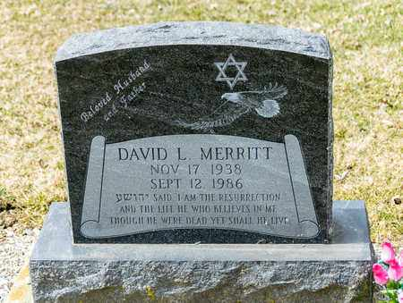 MERRITT, DAVID L - Richland County, Ohio | DAVID L MERRITT - Ohio Gravestone Photos