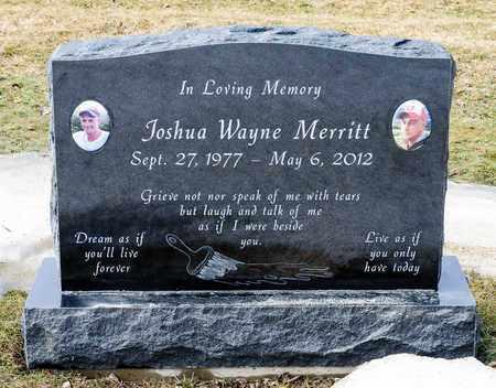 MERRITT, JOSHUA WAYNE - Richland County, Ohio | JOSHUA WAYNE MERRITT - Ohio Gravestone Photos