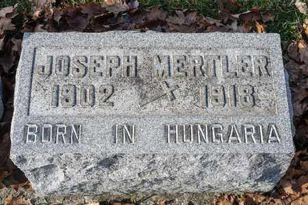 MERTLER, JOSEPH - Richland County, Ohio | JOSEPH MERTLER - Ohio Gravestone Photos