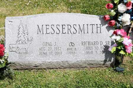 MESSERSMITH, OPAL J - Richland County, Ohio | OPAL J MESSERSMITH - Ohio Gravestone Photos