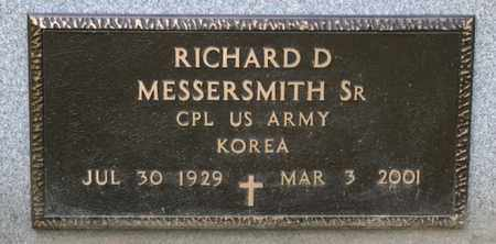 MESSERSMITH SR, RICHARD D - Richland County, Ohio | RICHARD D MESSERSMITH SR - Ohio Gravestone Photos