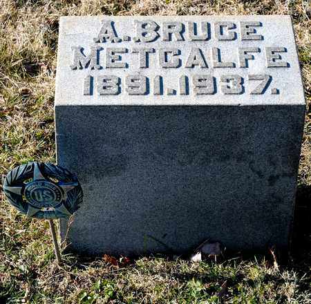 METCALFE, A BRUCE - Richland County, Ohio | A BRUCE METCALFE - Ohio Gravestone Photos