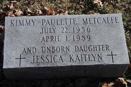 METCALFE, KIMMY PAULETTE - Richland County, Ohio | KIMMY PAULETTE METCALFE - Ohio Gravestone Photos
