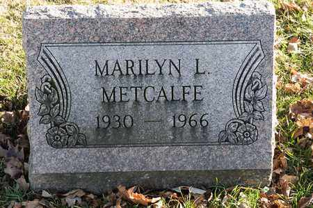 METCALFE, MARILYN L - Richland County, Ohio | MARILYN L METCALFE - Ohio Gravestone Photos