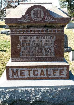 METCALFE, ROBERT - Richland County, Ohio | ROBERT METCALFE - Ohio Gravestone Photos