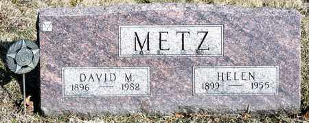 METZ, DAVID M - Richland County, Ohio | DAVID M METZ - Ohio Gravestone Photos
