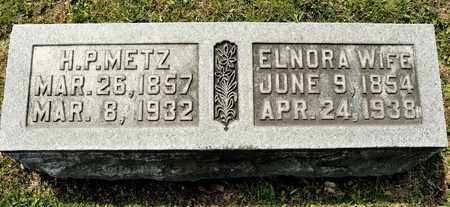 METZ, ELNORA - Richland County, Ohio | ELNORA METZ - Ohio Gravestone Photos