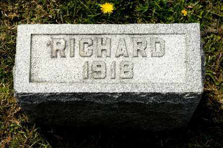METZ, RICHARD - Richland County, Ohio | RICHARD METZ - Ohio Gravestone Photos