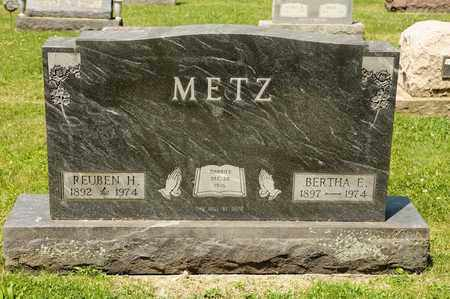 METZ, REUBEN H - Richland County, Ohio | REUBEN H METZ - Ohio Gravestone Photos