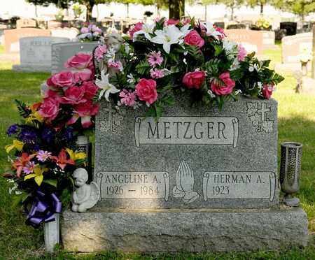 METZGER, ANGELINE A - Richland County, Ohio | ANGELINE A METZGER - Ohio Gravestone Photos