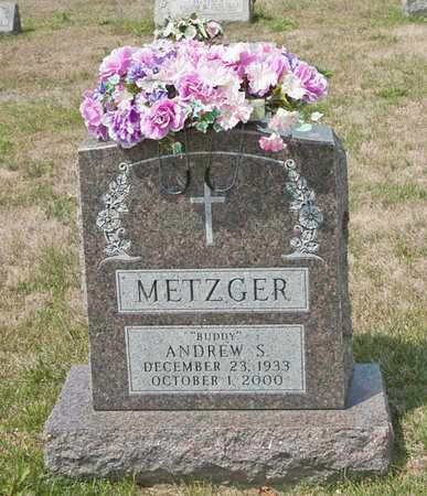METZGER, ANDREW S - Richland County, Ohio | ANDREW S METZGER - Ohio Gravestone Photos